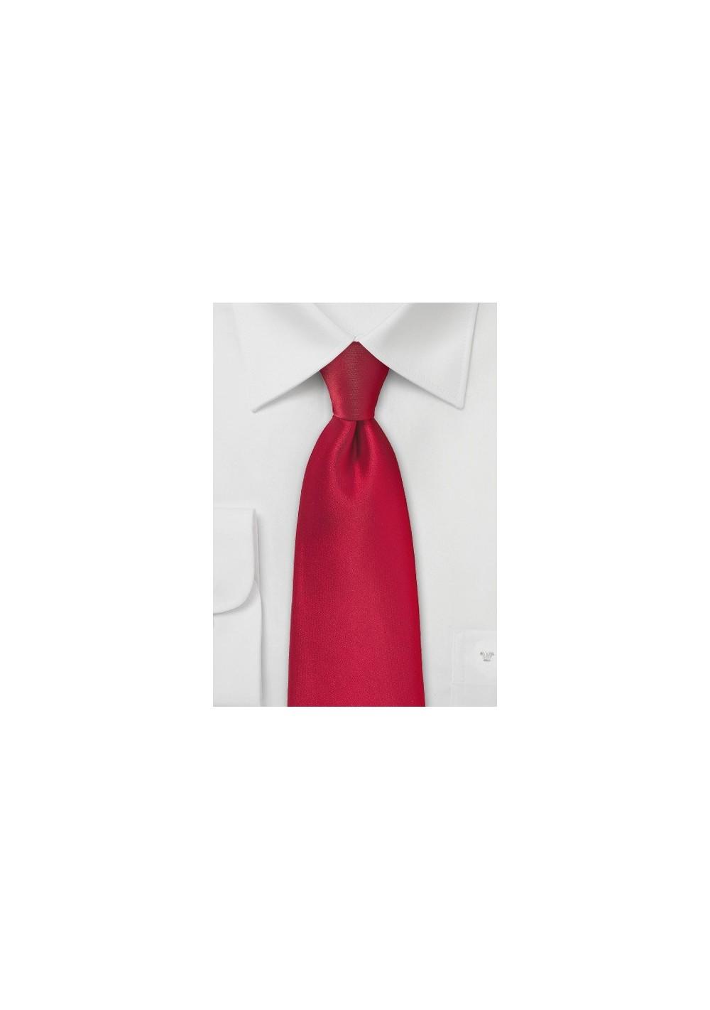 Valentine Red Color Tie