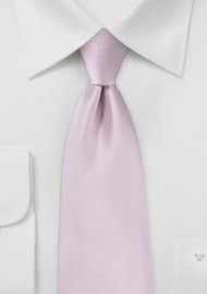 Soft Lilac Pink Hued Necktie