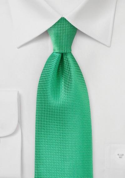 Textured Spring Green XL Tie