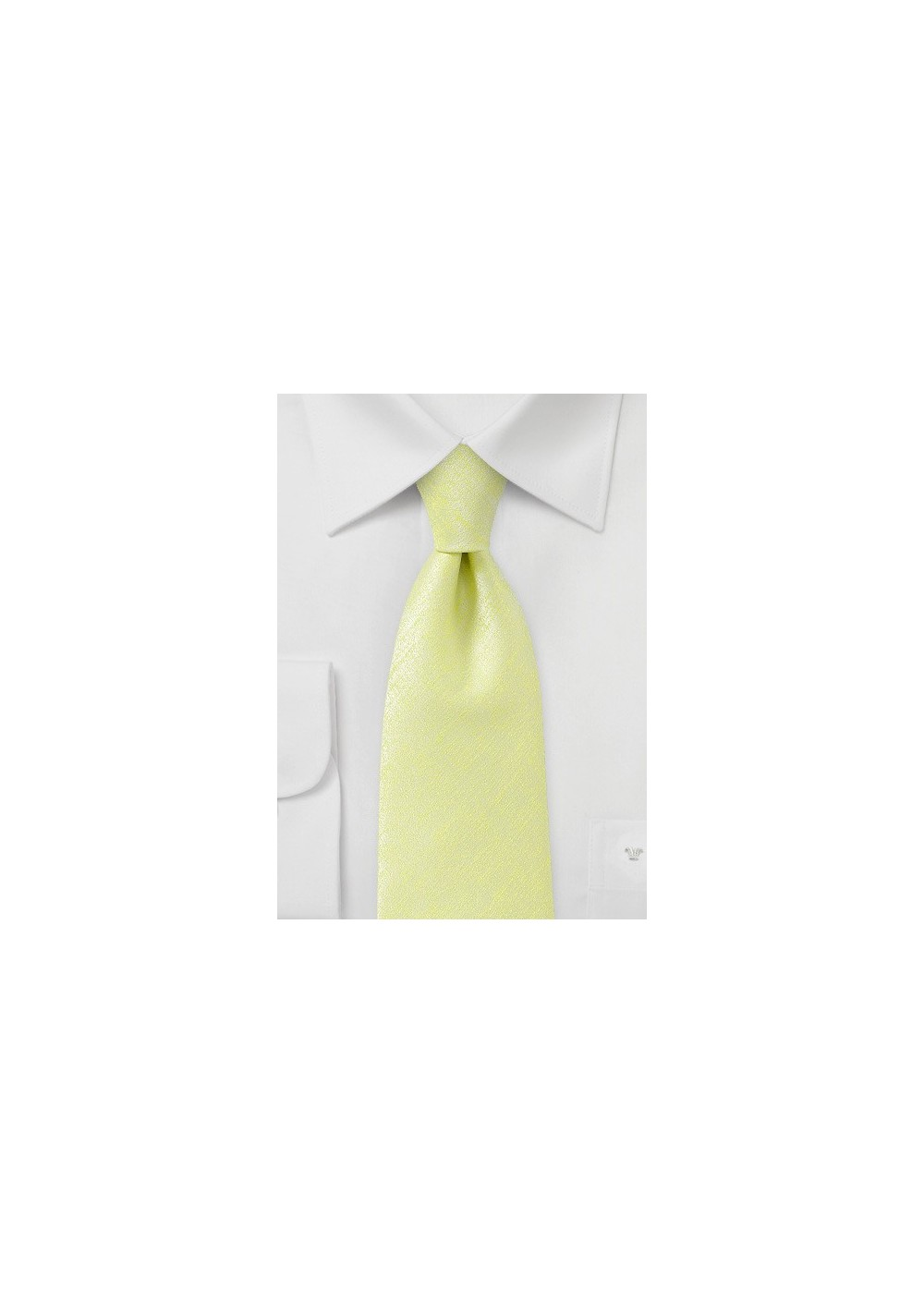 Chartreuse Colored Kids Necktie