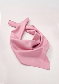 Women's Silk Scarf in Light Pink