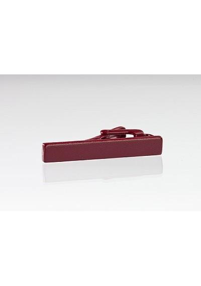 Burgundy Colored Tie Bar
