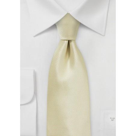 Festive Champagne Colored Necktie