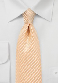 Peach Fuzz Colored Men's Tie