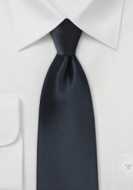 Midnight Navy Color Necktie