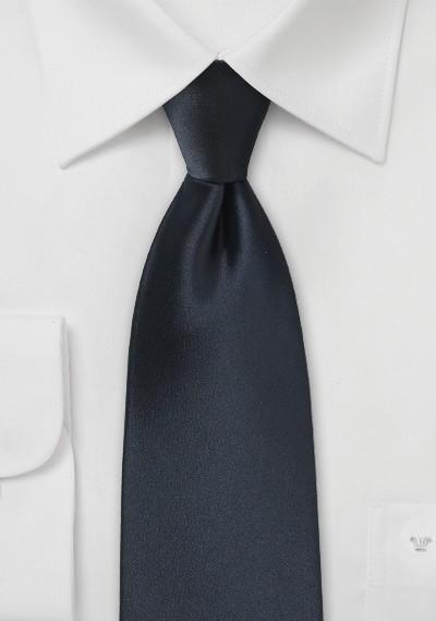 Midnight Navy Color Necktie
