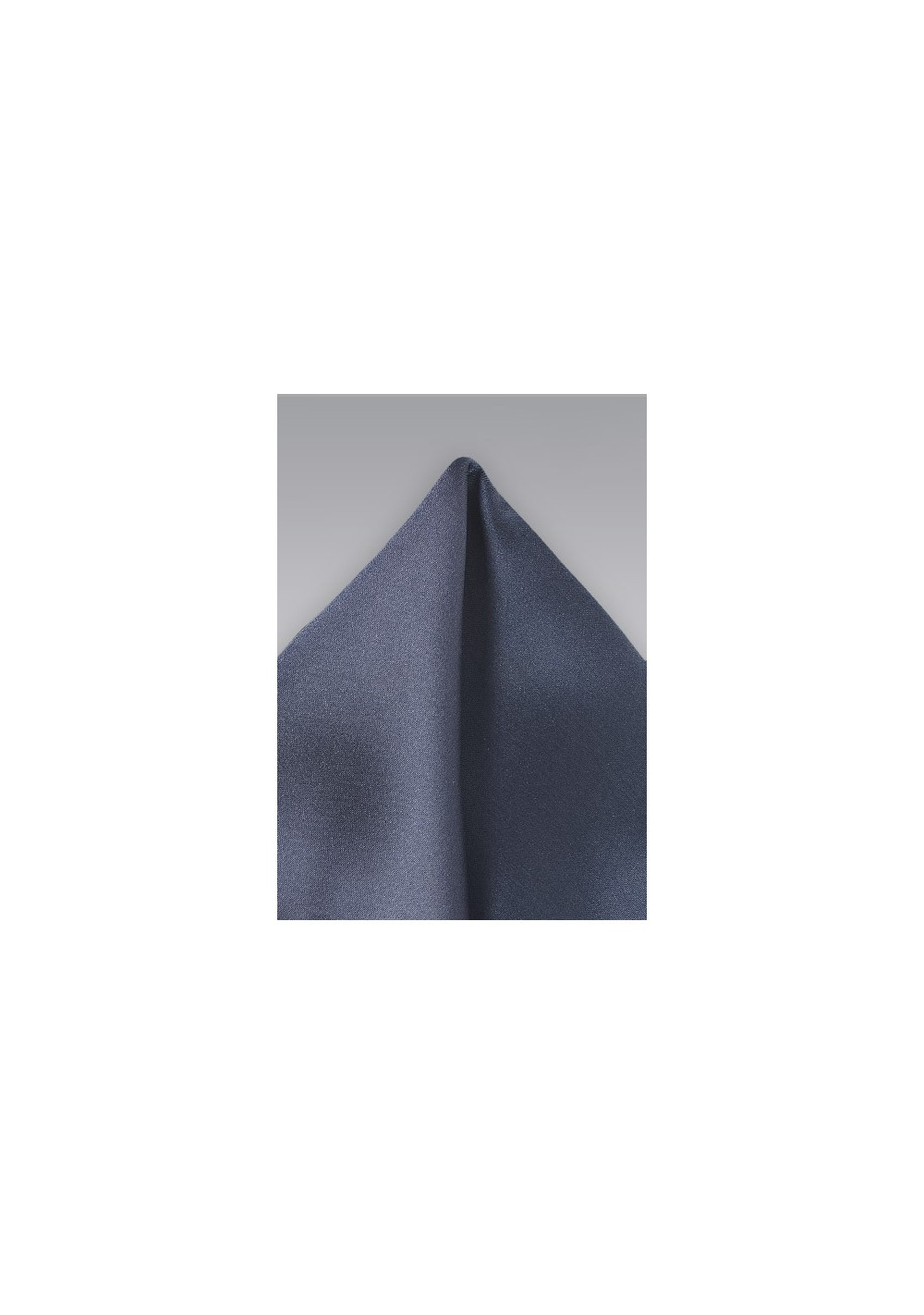 Deep Plum Gray Pocket Square