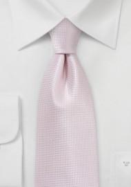 Boys Sized Tie in Blush Pink