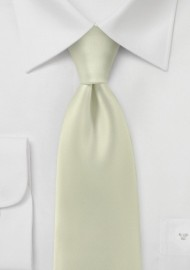 Light Vanilla Yellow Necktie