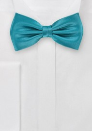 Adriatic Blue Bow Tie