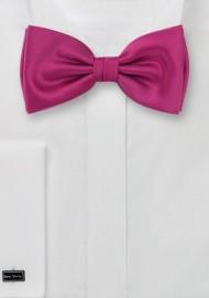 Kids Bow Tie in Magenta-Pink