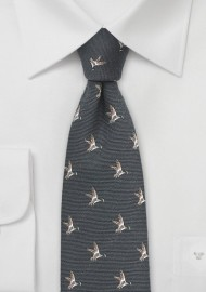 Flying Duck Tie in Dark Espresso Brown
