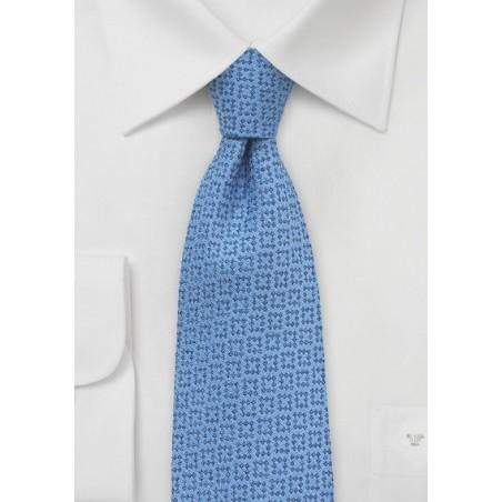 Wool Tie in Dusk Blue