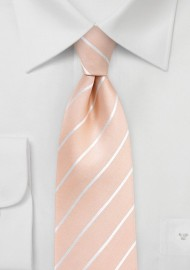 Nude Colored Silk Tie