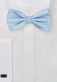 Light Blue Bow Tie for Kids