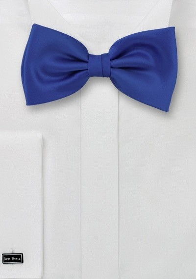 Azure-Blue Kids Bow Tie