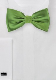 Fern Green Bow Tie in Kids Size