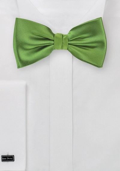Fern Green Bow Tie in Kids Size