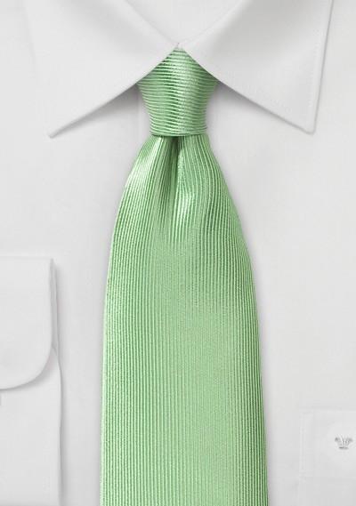 Tea Green Silk Tie