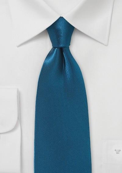 Silk Necktie in Celestial Blue
