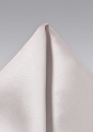 Light Ivory Color Pocket Square