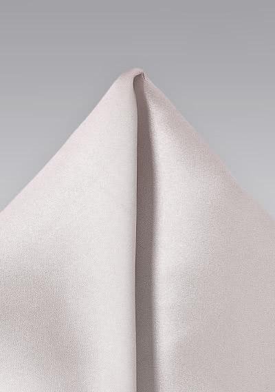 Light Ivory Color Pocket Square
