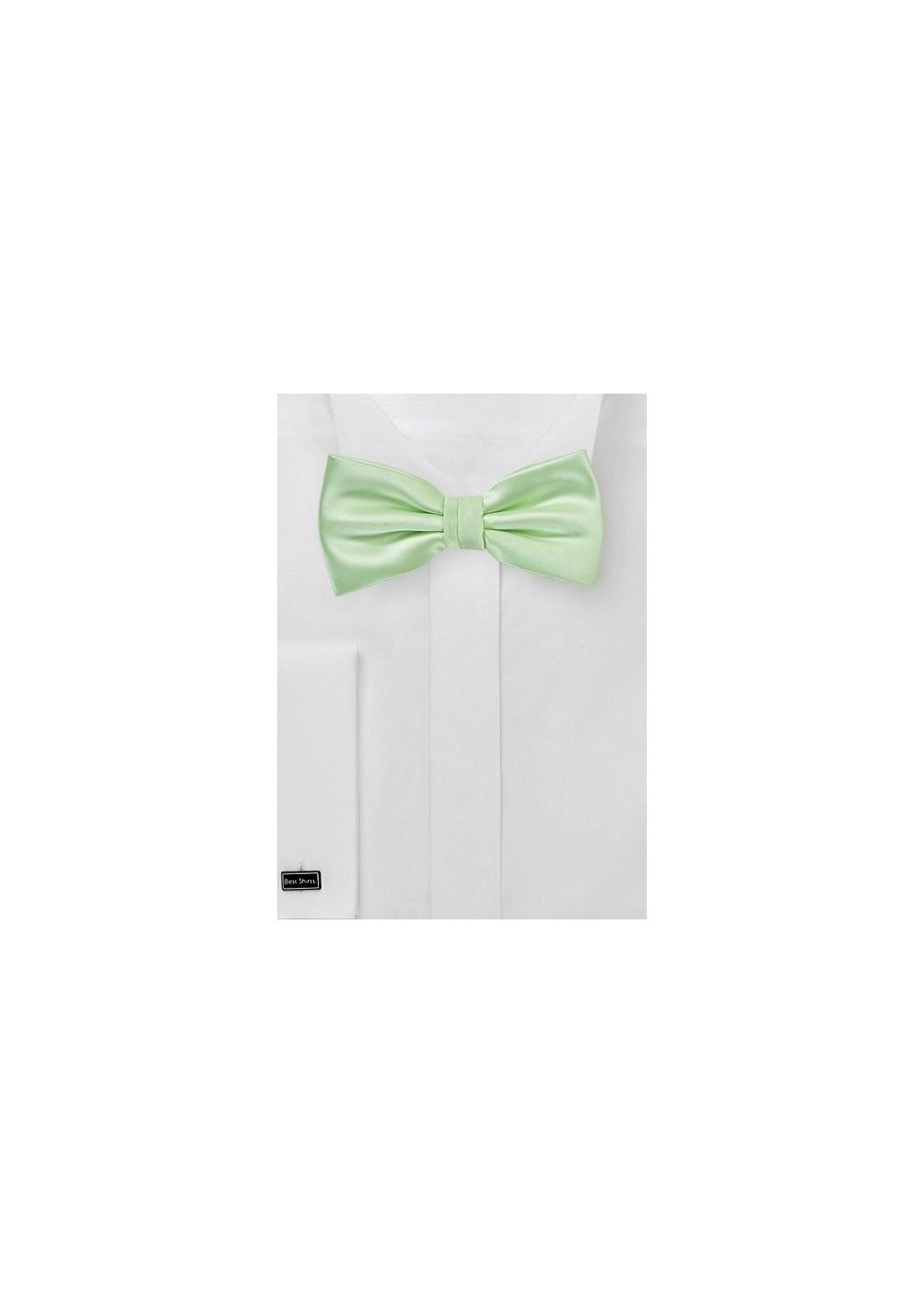 Light Mint Green Bow Tie