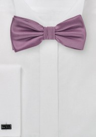 Bow Tie in Purple Rose Color
