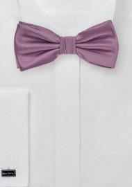 Bow Tie in Purple Rose Color