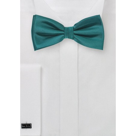 Bow Tie in Everglade Green