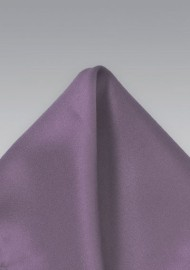 Pocket Square in Vintage Wisteria Purple