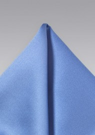 Solid Periwinkle Pocket Square
