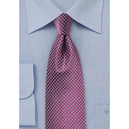 Grape Colored Silk Tie by Chevalier