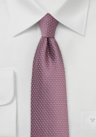 Skinny Pin Dot Tie in Renaissance