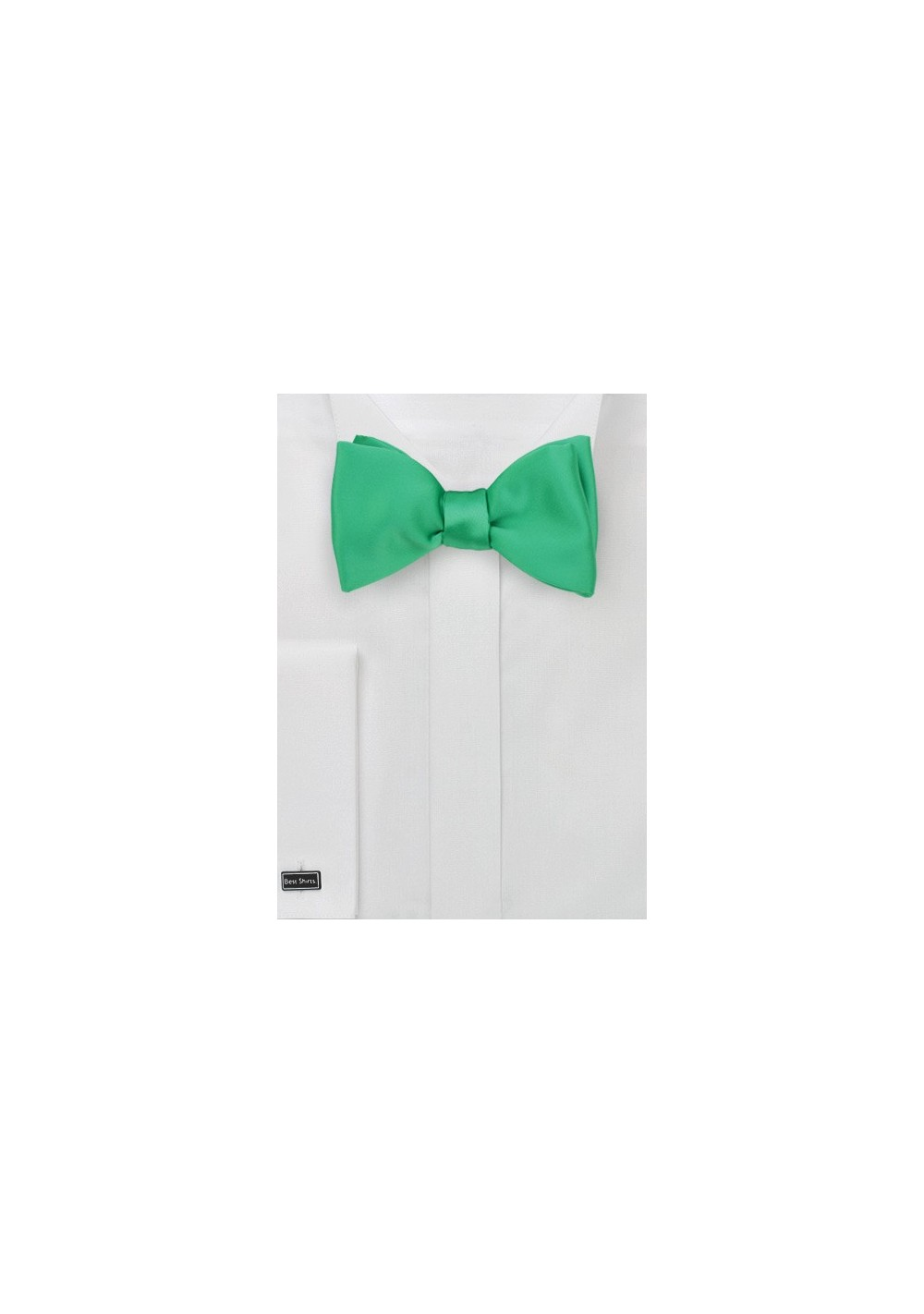 Self Tie Bow Tie in Emerald