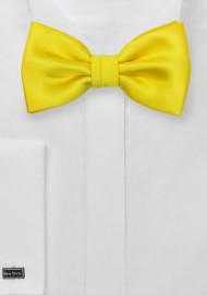 Men's Summer Bow Tie in Canary