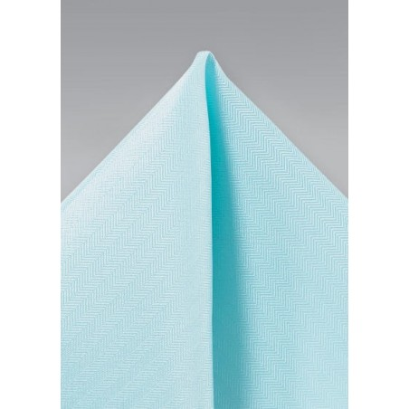 Pool Blue Textured Hanky