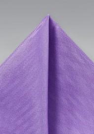 Pocket Square in Bright Violet