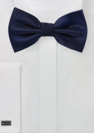 Formal Bow Tie in Midnight Blue