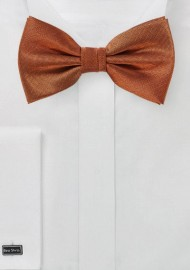 Burnt Orange Bowtie
