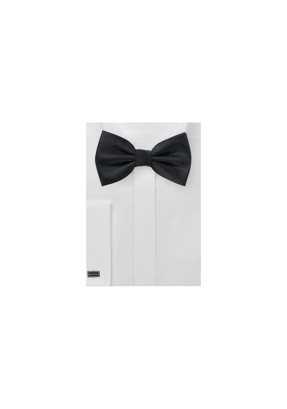 Formal Matte Black Bowtie
