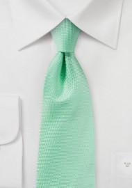 Matte Tie in Summer Mint