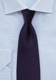 Majesty Purple Textured Tie