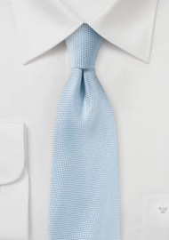 Summer Matte Finish Tie in Powder Blue
