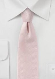 Pastel Pink Skinny Tie