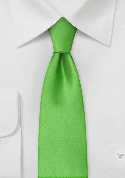 Kelly Green Skinny Tie