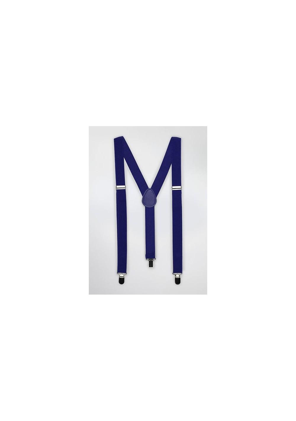 Suspenders in Horizon Blue