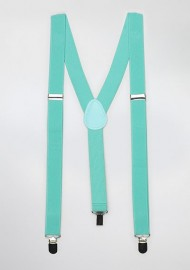 Solid Suspenders in Beach Glass