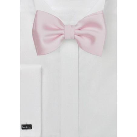 Blush Pink Kids Bowtie