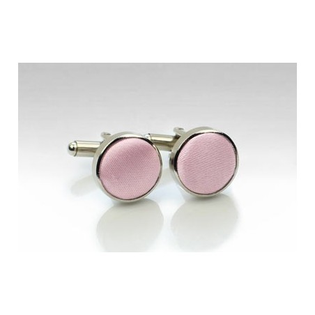 Soft Pink Mens Cufflinks